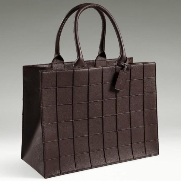 Bolinder Stochholm Sofia Tote Bag Dark Brown Nyheder