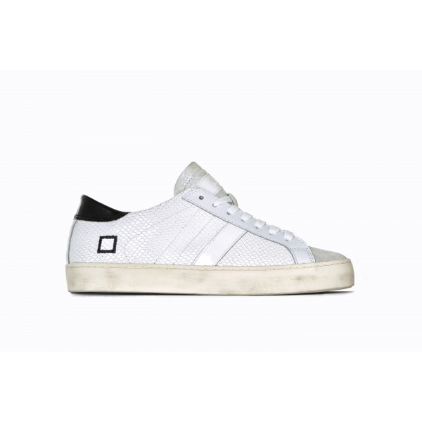 D.A.T.E Sneakers Hill Low Roof White