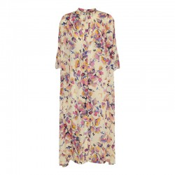 Dawn x Dare Barca Dress Baby Pink Flower
