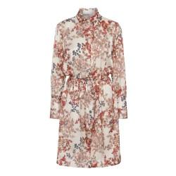 Karmamia Nakita Dress Melange Ivory