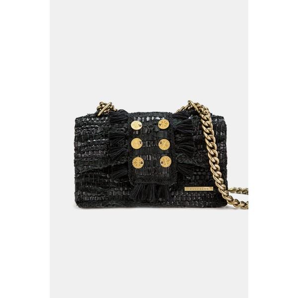 Kooreloo Leather Shoulder Bag - New Yorker Soho Black