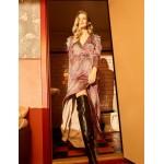 Notes du Nord Passion Silk Maxi Dress