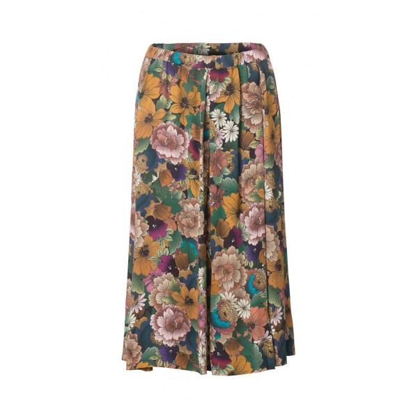 Graumann Moss Skirt Multi Flower